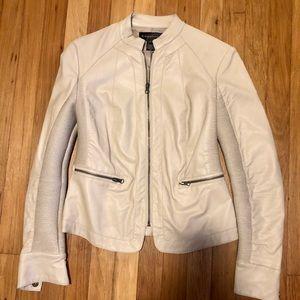 Bagatelle Tan leather jacket Size XS